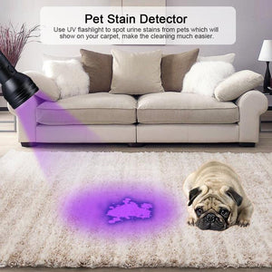 UV Flashlight 51 LED Ultraviolet Pet Urine Detector Bed Bug