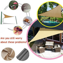 Load image into Gallery viewer, Outdoor Waterproof Triangular UV Sun Shade Sail