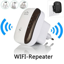 Load image into Gallery viewer, 300Mbps Wireless WiFi Repeater Wifi Extender