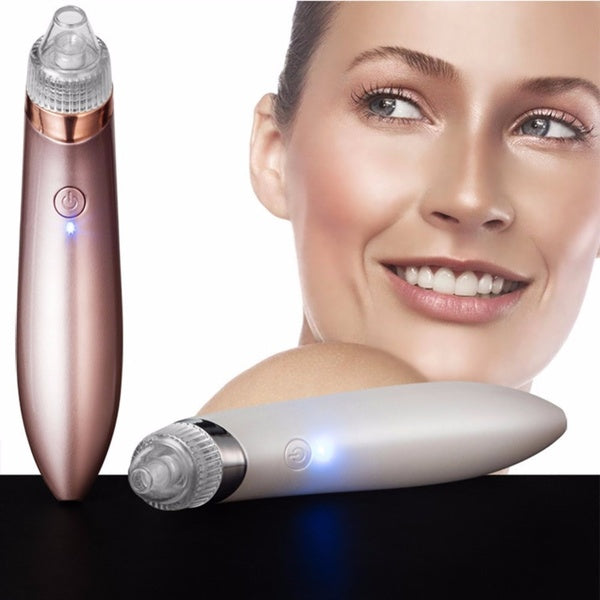 Electric Blackhead Vacuum Acne Cleaner Pore Remover Facial Skin Cleanser Care