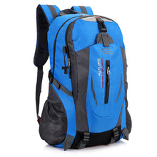 Load image into Gallery viewer, 40L Outdoor Travel Backpack Sports Bag Camping Backpack Hiking Rucksack Students Backpack Water Resistant Hiking Bag Men Women