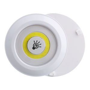3PCS COB LED Night Lights Wireless LED Remote Control Battery Under Cabinet Night Light