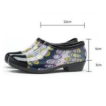 Load image into Gallery viewer, Women Waterproof Rain and Garden Shoe Slip On Low Boot