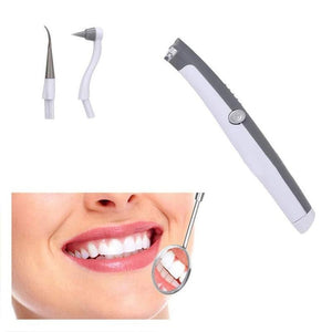Electric Ultrasonic Sonic Pic Tooth Stain Eraser Plaque Remover Dental Tool Teeth Whitening