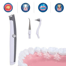 Load image into Gallery viewer, Electric Ultrasonic Sonic Pic Tooth Stain Eraser Plaque Remover Dental Tool Teeth Whitening