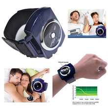 Load image into Gallery viewer, Smart Snore Stopper Stop Snoring Wristband Watch Anti Snoring Device
