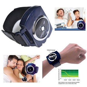 Smart Snore Stopper Stop Snoring Wristband Watch Anti Snoring Device