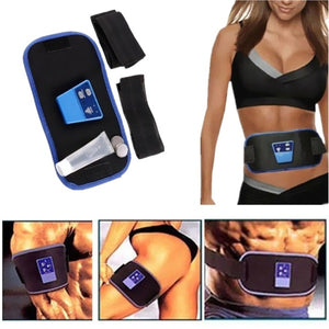 AB Gymnic Front Muscle Arm leg Waist Abdominal Massage Slim Fit Toning Belt