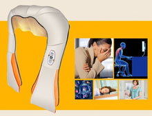 Load image into Gallery viewer, Electric U Shape Neck Back Shoulder Massager Body Infrared 3D Kneading Massage Muscle Stimulator Massager Machine