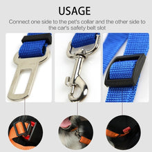 Load image into Gallery viewer, Pet Cat Dog Car Safety Seat Belt