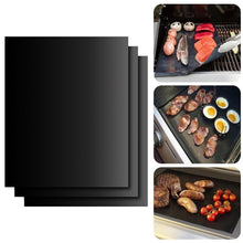 Load image into Gallery viewer, Non Stick BBQ Liners Oven Grill Foil Barbecue Liner Reusable Mat