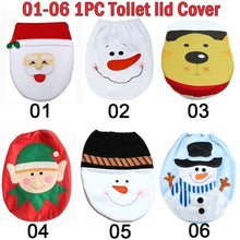 Load image into Gallery viewer, Santa Claus Toilet Seat Cover