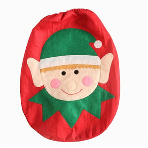 Santa Claus Toilet Seat Cover