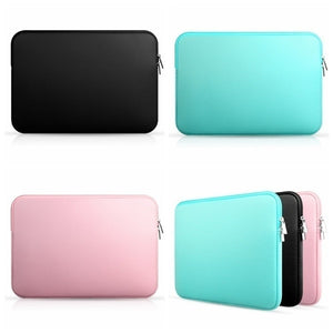 Macbook Laptop AIR PRO Retina Notebook Bags Zipper Ipad Sleeve Case