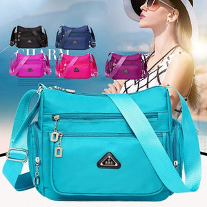 Women's Waterproof Nylon Single-shoulder Bag Mini Bag Casual Wallet