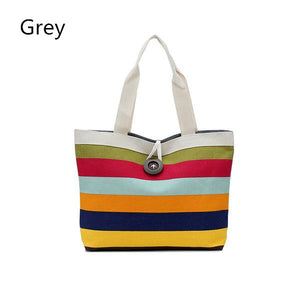 Canvas Summer Beach Bag