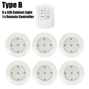 5 LED Remote Control LED Cabinet Light