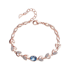 Women Gold Bracelet Jewellery Embellished with crystals from Swarovski