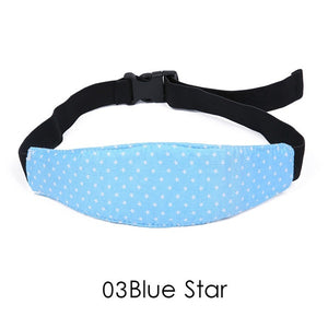Car Adjustable Safety Seat Sleep Positioner Head Support Pram Stroller Fastening Belt Infants Baby