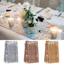 Load image into Gallery viewer, New Fashion 30x275cm 30x180cm Glitter Sequin Table Sparkly Wedding Party Deco