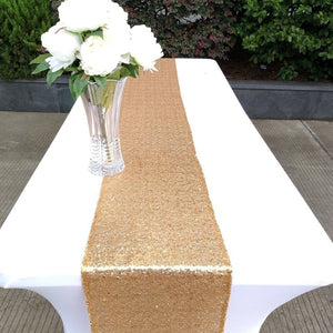 New Fashion 30x275cm 30x180cm Glitter Sequin Table Sparkly Wedding Party Deco