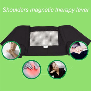 Self-heating Shoulder Pads, Composite Heating Cloth Magnetic Shoulder Pads