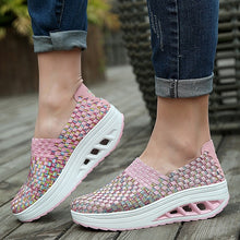 Load image into Gallery viewer, Women Fashion Handmade Sport Slim Sneaker Breathable Thick Bottom Non-slip Light Braided Shoes