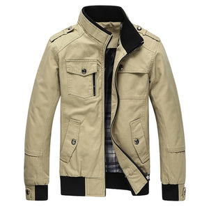 Mountainskin Casual Men's Jacket Spring Army Military Jacket