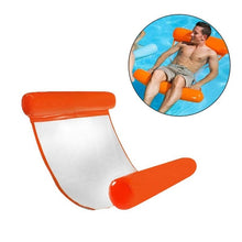 Load image into Gallery viewer, Inflatable Swimming Pool Lounger Chair Luxury Swimming Pool Air Bed Mat