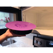 Load image into Gallery viewer, Set of 5 silicone Microwave bowl cover cooking pot pan lid Cover-Silicone food wrap cooking tools