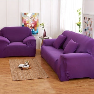 Sofa Sets Plush Elasticity Tight Package All-inclusive Cover Cloth 4 Size