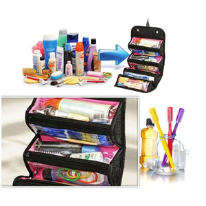 Women Men Beauty Toiletry Travel Makeup Suitcase Make Up Organizer