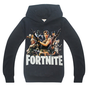 Fortnite Children's Sweater Boys Cotton Hoodies