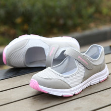 Load image into Gallery viewer, Summer Women Casual Sneakers Mesh Breathable Shoes Fitness Shoes Walking Running Shoes