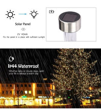 Load image into Gallery viewer, 10pcs Outdoor Solar Powered LED Courtyard Lawn Lamp