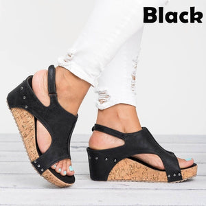 Women Fashion Casual Shoes Summer Platform Sandals Plus Size 35-43