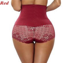 Load image into Gallery viewer, Women's Waist Trainers Training Cinchers Lace Mesh Butt Lift Panties High Waist Underwear