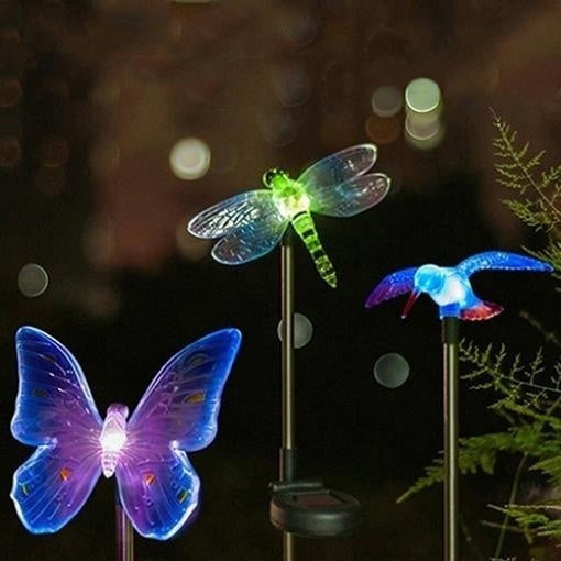New Design Solar LED Light Outdoor Path Garden Yard Lawn Landscape Spotlight Spot Lamp