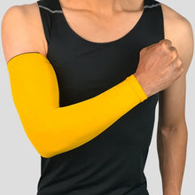 Load image into Gallery viewer, Sports Arm Sleeves Protector Golf Basketball Cycling UV Warmers Elbow Protector Pad Covers