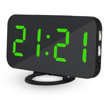 Load image into Gallery viewer, Alarm Clock Digital Clock with Large 6.5'' Easy-Read LED Display Diming Mode