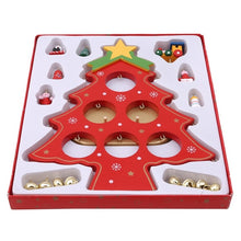 Load image into Gallery viewer, DIY Wooden Christmas Ornaments Festival Party Xmas Tree Table Desk Decoration