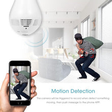 Load image into Gallery viewer, 360°Bulb Camera Security Mini Wireless Lamp
