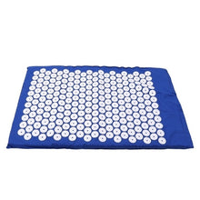 Load image into Gallery viewer, Acupressure Mat Body Foot Massage Cushion Shakti Mat Yoga Message