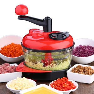 Powerful Handheld Fruit Vegetable Chopper Nuts Mincer Onion Salad Blender Food Processor