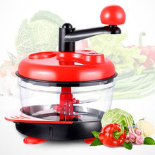 Load image into Gallery viewer, Powerful Handheld Fruit Vegetable Chopper Nuts Mincer Onion Salad Blender Food Processor