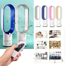 Load image into Gallery viewer, 16 Inch Mute Remote Control Air Electric Fan Floor Bladeless Cooling Fan (UK Plug)