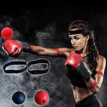Load image into Gallery viewer, Pu Ball Head Wear Speed Ball Boxing Magic Ball Reaction Ball Fight Training Reaction Ability Coordination Vent Fist Speed