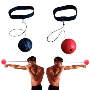 Pu Ball Head Wear Speed Ball Boxing Magic Ball Reaction Ball Fight Training Reaction Ability Coordination Vent Fist Speed