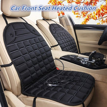 Load image into Gallery viewer, Universal 12V Car Front Seat Heated Cushion Winter Warmer Cover