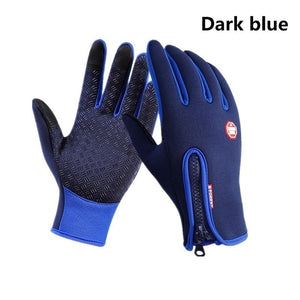 Winter Warm Gloves Windproof Gloves Touch Screen Gloves